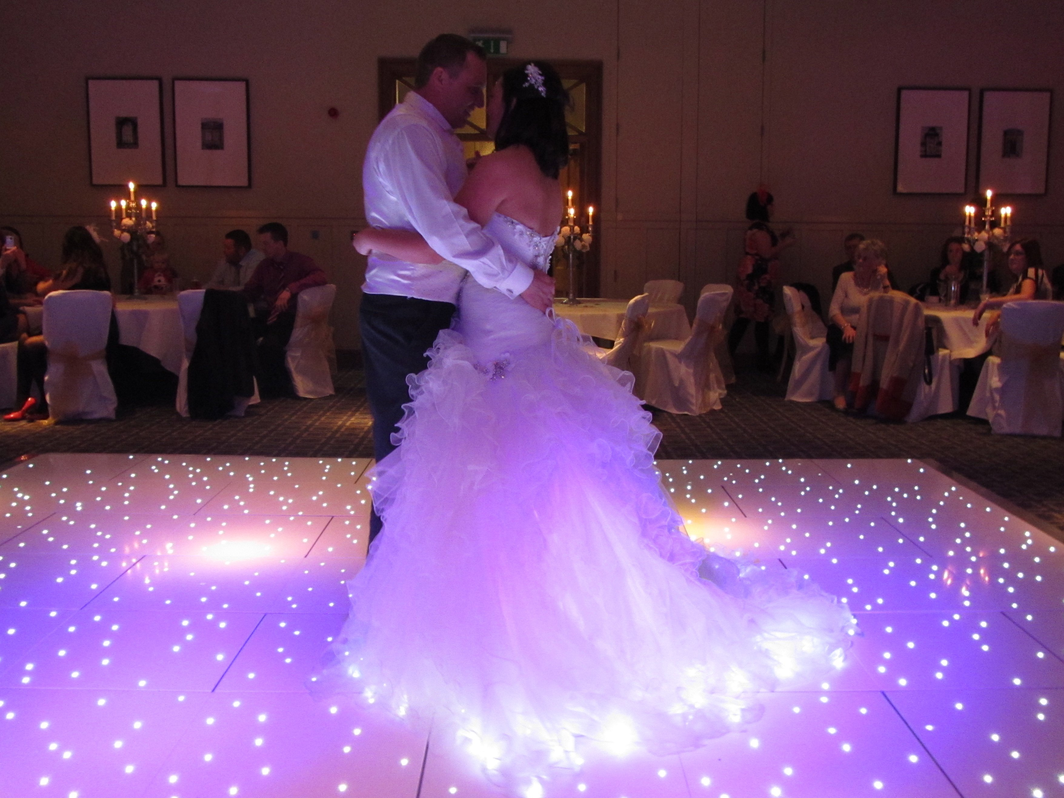 Led Dance Floor Hire Supplying Mobile Discos Photo